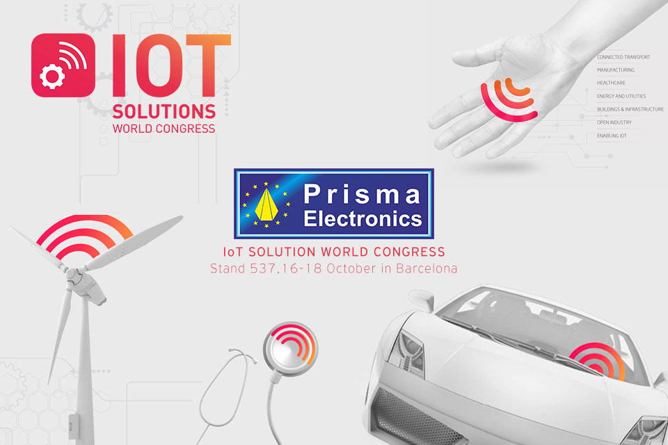Prisma Electronics at IoT Solutions World Congress 2018