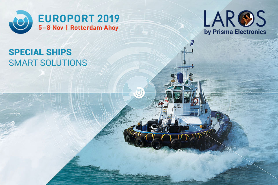 Prisma Electronics at Europort 2019