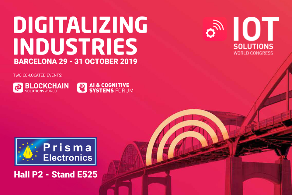 Η Prisma Electronics στο IoT Solutions World Congress 2019